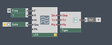 How to Build a Synth in Reaktor (Part II) – Adding An LFO and Pulse Width Modulation