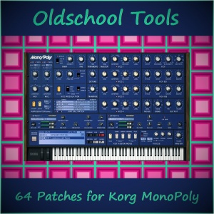 Korg MP - Oldschool Tools Cover~2