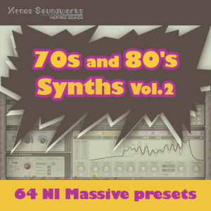 70s and 80s Synths Vol.2