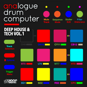 Analogue Drum Computer – Deep House & Tech Vol.1