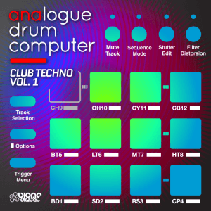 Analogue Drum Computer - Club Techno Vol.1