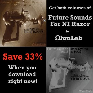Future Sounds for Razor by Ohmlab Vol. 1 & 2