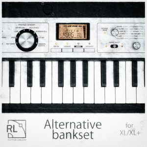 Microkorg XL / XL  Alternative Bankset