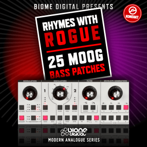 Modern Analogue Series – Rhymes With Rogue – Bass