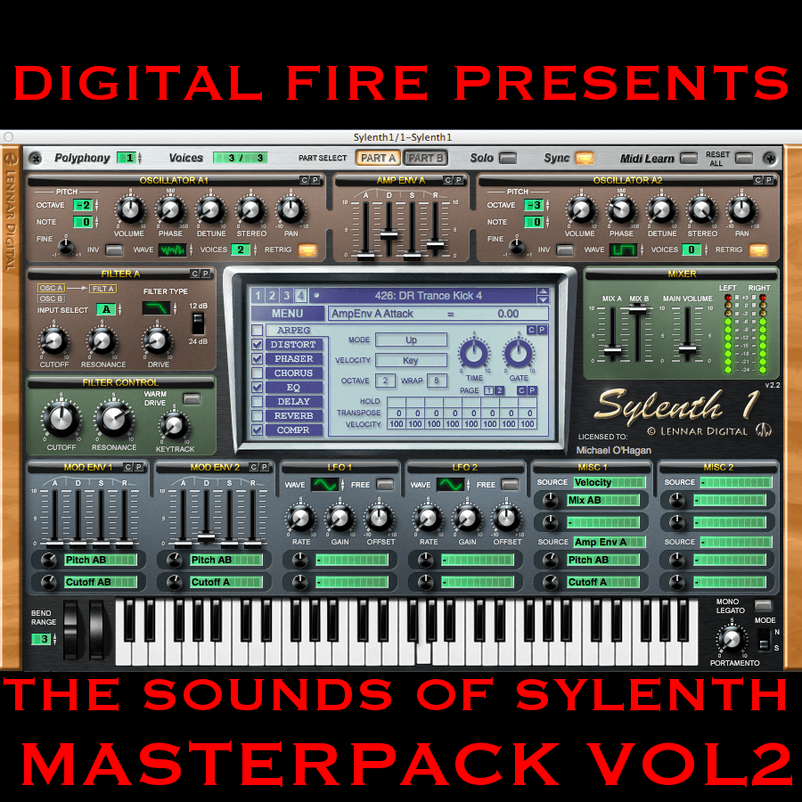 Digital Fire Presents the Sounds of Sylenth Masterpack Vol.2