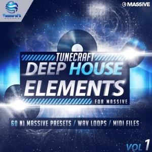 Tunecraft Deep House Elements Vol.1 Demo - Free Massive Presets