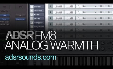 Add Analog Warmth to a Techno Bass in FM8