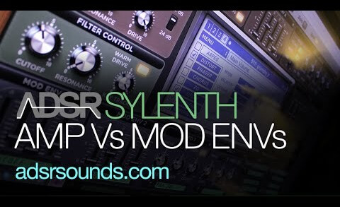 Amp Envelope VS Mod Envelopes in Sylenth