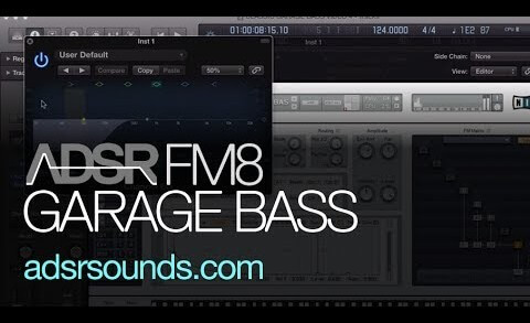 Classic Garage Sine Bass Design With FM8