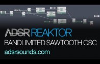 Create a Bandlimited Sawtooth in Reaktor Primary