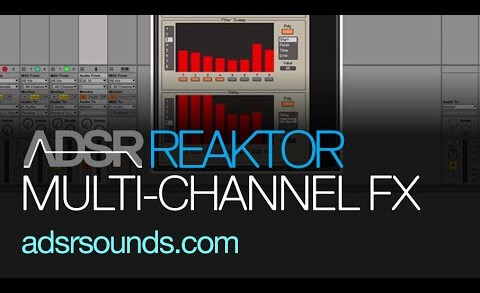 Create a Multi-Channel Effect Rack In Reaktor