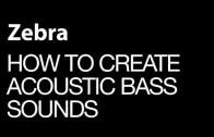 Create Acoustic Bass Sounds in U-he Zebra