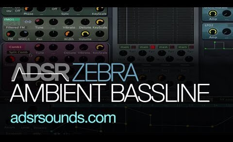 Create Warm Ambient Basslines in U-he Zebra
