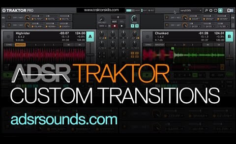 Custom Transition Effect Rack – traktor tutorial