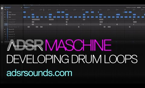 Developing Drum Loops with Maschine