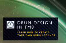 Drum Design With FM8