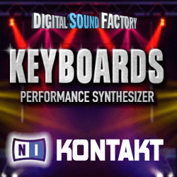 DSF Keyboards Performance Synthesizer