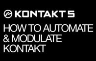 Automation and Modulation – Features of Kontakt – part 15