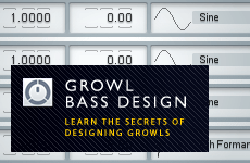 Growl Bass Design In FM8