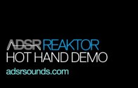 Hot Hand MIDI Controller Demo with Reaktor