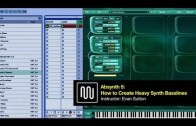 How to Create Heavy Synth Basslines with NI Absynth