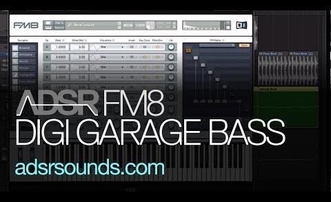 How to make a Garage Bass with FM8