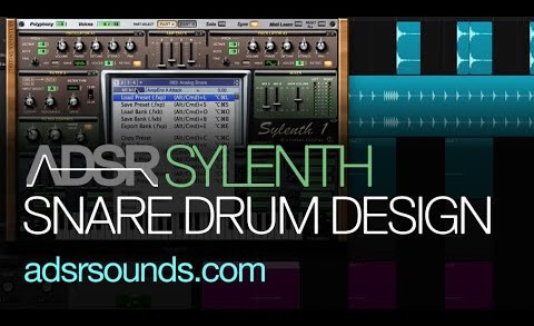 How To Make An Analog Snare Drum in Sylenth