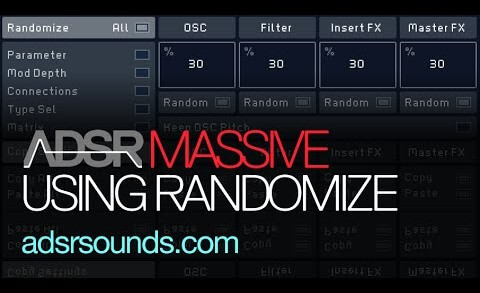 Better Sound Design With The Randomize Feature in Massive