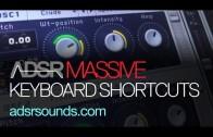 Keyboard Shortcuts in Massive