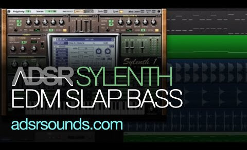 Learn How To Create a EDM Slap Bass in Sylenth