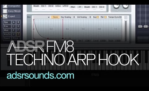 Learn How To Create a Techno Arp Hook in FM8