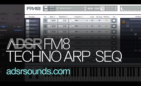 Learn How To Design an FM8 Techno Arp Sequence