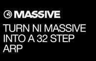 Make a 32 Step Performance Arp in Massive