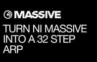 Make a 32 Step Performance Arp in Massive