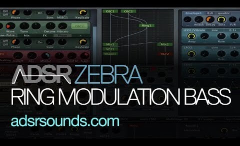Make Crazy Bass Sounds With Ringmodulation