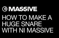 Make that Huge Snare You've Dreamed of in Massive