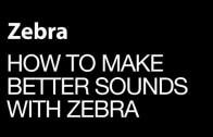 Make the sickest sounds with Zebra Envelopes