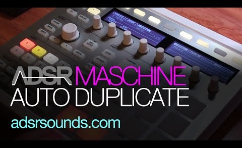 Creating Duplicate Patterns In Maschine
