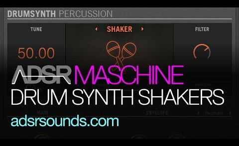 Using the Shaker Drum Synth In Maschine