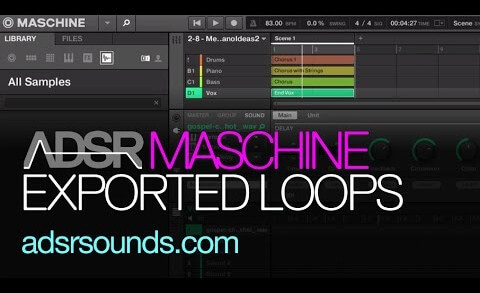 Quick Tip – Exporting Loops with Maschine
