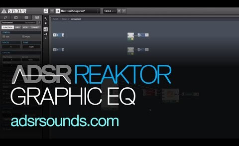 Graphic EQ in Reaktor
