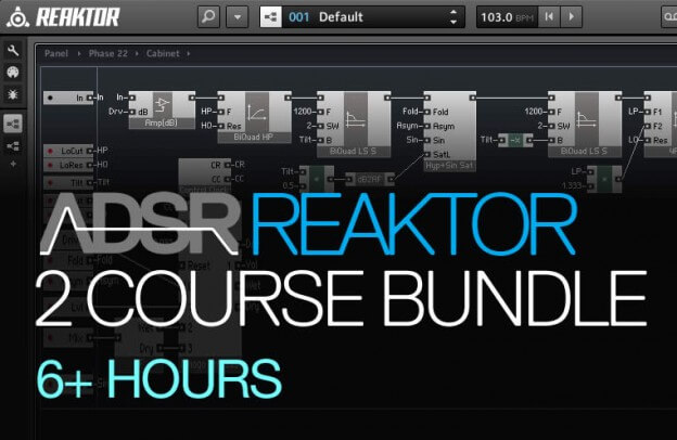 Reaktor Masterclass Bundle - Save over 30%!