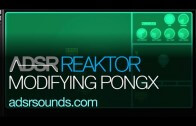 Reaktor User Library – Modifying PongX