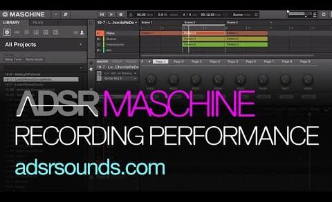 Recording Performances In Maschine
