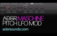 Rhythm and Pitch LFO Modulation with Maschine's Sampler