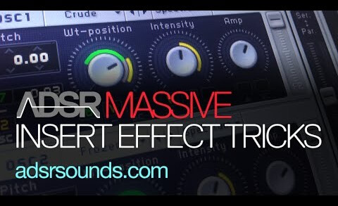 Sculpt Your Sounds With Massive Insert Effects