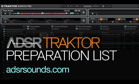 Streamline browsing upcoming tracks with the Traktor preparation playlist