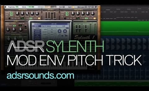 Sylenth Modulation Envelope Pitch Trick Tutorial