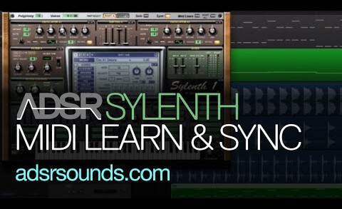 Sync and MIDI Learn in Sylenth