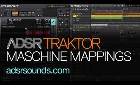 Traktor Remix Deck Mappings for Maschine